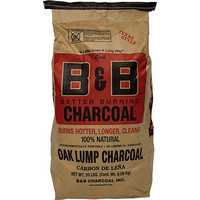 B&B Oak Lump Charcoal 9kg