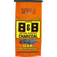 B&B Oak Charcoal Briquette 8kg
