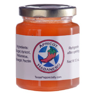 Texas Pepper Jelly Apricot Habanero Pepper Jelly 355ml