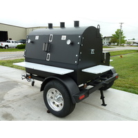 American Barbecue Systems Judge 5ft Rotisserie Smoker